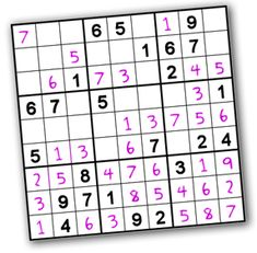 INSIPIRATION  Free sudoku printables.  The bride loves sukoku, think I'll print an assortment of the easier levels for most people (challenging is about my limit) and some insane ones for her.    Price per bag = £0.00