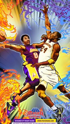 Kobe 8 vs Kobe 24 Wallpaper | Posterizes | NBA Wallpapers &