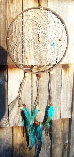 Dreamcatcher Hand Made by Debbsdelights on Etsy