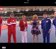 Gabby Logan dress on BBC sport relief