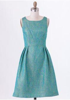 Yvaine Jacquard Dress By Coconinno by Eva Franco   Modern Vintage Dresses   Modern Vintage Sale   Ruche