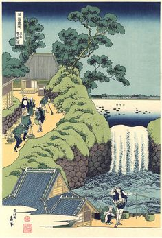 Japanese Ukiyo-e Woodblock print Katsushika Hokusai