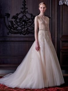 Monique Lhuilliers New Wedding Dress Collection Is Both Naughty And Nice