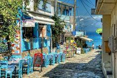 Agios Nikitas,Lefkada island Greece —