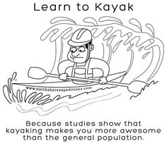 White water kayaking may now be counted as an official Olympic sport; many people still enjoy it as a pastime. Sensational White Water Kayaks Tips for Safe Kayaking Ideas. Canoe Camping, Canoe Trip, Canoe And Kayak, Kayak Fishing, Fishing Boats, Kayaking Quotes, Kayaking Tips, Whitewater Kayaking, Canoeing