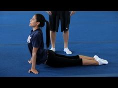 ▶ How to Do a Back Walkover   Gymnastics Lessons - YouTube