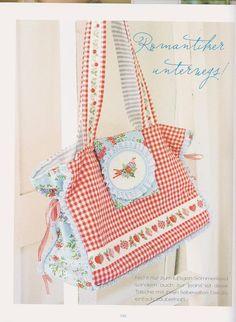 ru / Foto nº 103 - 28 - valarisha Cross Stitch Books, Cross Stitch Flowers, Cross Stitching, Cross Stitch Embroidery, Shabby Chic Stil, Stitch Magazine, Sweet Bags, Handmade Purses, Craft Bags