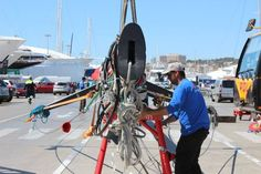Last Friday our #riggers re-stepped Marten 72 #SYAragon. Our team have a wide range of #yachting expertise. To get in touch contact @info@rsb-rigging.com #RiggingInPalma www.rsb-rigging.com