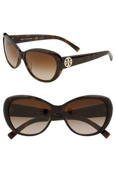 a0115dd105 Custom made optical lens!!!!!!! See more. Tory Burch 56mm Cat s Eye  Sunglasses available at  Nordstrom Sunglasses Sale