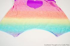 Easy Breezy Summer Swing Tank (with reversible applique tutorial) - Scattered Thoughts of a Crafty Mom by Jamie Sanders