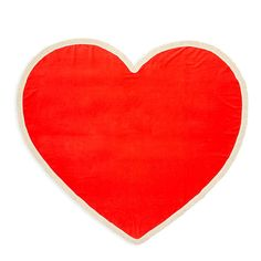 all around giant heart towel - sweetheart from ban.do