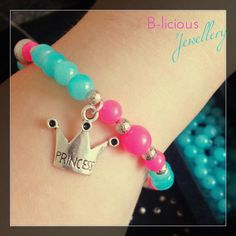 pink &' blue - Princess Armband