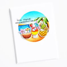 Mix It Up; Scene It Seasons; Clear Stamps, Wonderful Time, Cards, Scene, Seasons, Bon Voyage, Seasons Of The Year, Maps, Playing Cards