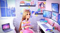 6126e86ad036 It is a total mashup of Barbie Game Developer + Barbie Video Game Hero and  Marinette from Miraculous.
