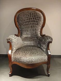 Le fauteuil crapaud qui se prenait pour un croco !