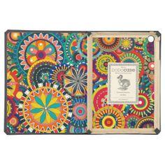 Psychedelic Pinwheels iPad Air Cases