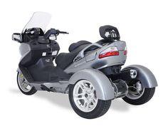 Trike Suzuki Burgman 650 by Motor Trike -- Motos -- Autobild.es