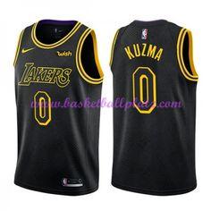 Los Angeles Lakers Trikot Herren 2018-19 Kyle Kuzma 0  City Edition  Basketball Trikots NBA Swingman 4e6f261e6