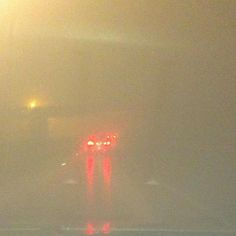 Another nasty #foggy night for #driving on #thelinc in #hamont #drivecarefullyeveryone