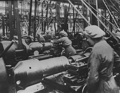 The History Place - World War I Timeline - 1916 - Women on the Job