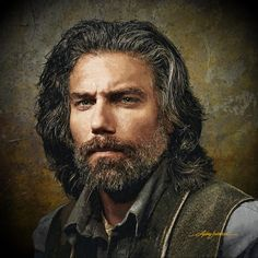 Anson Mount by Michael Shifflett Anson Mount, Nbc Series, Black Bolt, Hell On Wheels, Hot Hunks, Hairstyle Look, Attractive Men, American Actors, Gorgeous Men