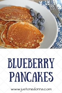 I don't spend much time on Just One Donna talking about breakfast. That's because breakfast is more often than not, a simple meal focused . Breakfast Time, Best Breakfast, Breakfast Recipes, Blueberry Pancakes, Pancakes And Waffles, Pancake Day Shrove Tuesday, Cheap Meals, Easy Meals, Cinnamon Recipes