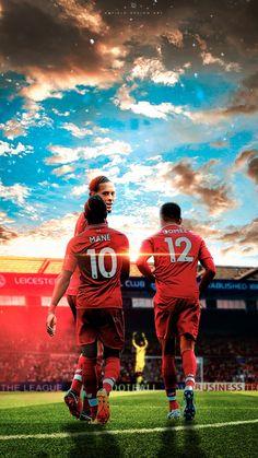 Liverpool Anfield, Liverpool Football Club, Liverpool Fc Wallpaper, Virgil Van Dijk, Mo Salah, Premier League Champions, Red Day, You'll Never Walk Alone, Best Player