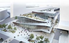 Plano de modernização da malha férrea de Paris, na França, terá estação projetada por Kengo Kuma