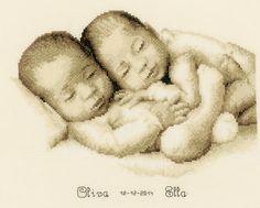 Twins Cross Stitch Kit | sewandso