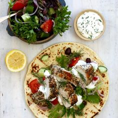 FREE RANGE CHICKEN SOUVLAKI WITH TZATZIKI. This free range chicken Souvlaki is our nod to this classic Greek dish that just screams summer time! Think chunky tomatoes, cucumber, red onion, and olives with grilled chicken dressed in oregano, all served with a big hit of Fresh Fodder tzatziki, fresh dill and lemon. 20 Minutes. Free Range. Perfect Summer Cooking.