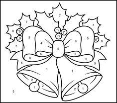 Figuras de Navidad para Colorear e Imprimir Archivos | Dibujos ...
