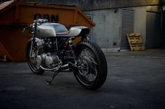 """Honda CB750 Cafe Racer """"Type 13"""" by Auto Fabrica #motorcycles #caferacer #motos 