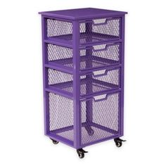 Office Star® Products Clayton 3-Drawer Rolling Cart - BedBathandBeyond.com