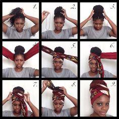16 ways to use a scarf if you have afro hair or braids – Hair Wraps scarf Wraps white girl Head Wraps Bad Hair Day, My Hair, Hair Locks, Cabello Afro Natural, Turban Tutorial, Head Wrap Tutorial, Curly Hair Styles, Natural Hair Styles, Hair Wrap Scarf