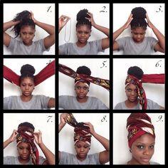 16 ways to use a scarf if you have afro hair or braids – Hair Wraps scarf Wraps white girl Head Wraps Cabello Afro Natural, Pelo Natural, Turban Tutorial, Head Wrap Tutorial, Curly Hair Styles, Natural Hair Styles, Hair Wrap Scarf, Pelo Afro, Head Scarf Styles
