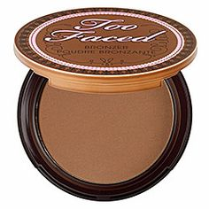 Smells like chocolatey marshmallows. Great bronzer! ♡ Too Faced Chocolate Soleil Medium/Deep Matte Bronzer - Chocolate Soleil Medium/Deep Matte Bronzer Chocolate  #sephora
