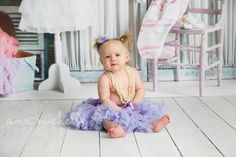 9 month old girl dress up session