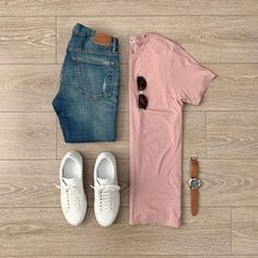 visit our website for the latest men's fashion trends products and tips . Mens Casual Dress Outfits, Stylish Mens Outfits, Casual Shirts, Casual Attire, Mens Fashion Suits, Fashion Wear, Herren Style, Outfit Grid, Men Style Tips