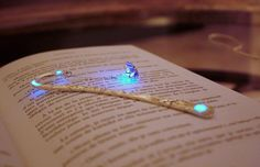 Blue or Purple Lotus Flower BOOKMARK GLOW in the DARK by Papillon9 on Etsy https://www.etsy.com/listing/183745745/blue-or-purple-lotus-flower-bookmark
