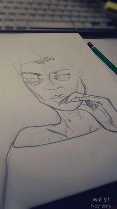 PAIN to PEN - on Behance    Art from #AutoImmuneHepatitis & #Fibromyalgia Crisis     Sara Liliane Fernandez  @Slf 2015 Chronic Illness, Chronic Pain, Fibromyalgia, Drawings, Behance, Illustrations, Facebook, Art, Art Background