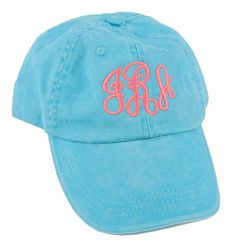 Marley Lilly Monogrammed Baseball Hat