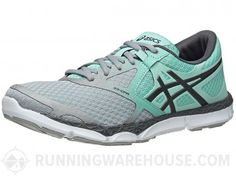 6f4652343c8 ASICS 33-DFA Women s Shoes Grey Charcoal Mint. Zapatos De ...