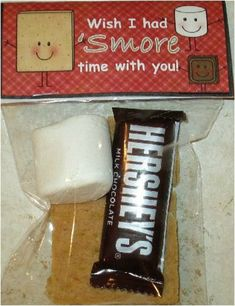 End of Year gift- Wish I had S'more Time With You! – Diane McCamant End of Year gift- Wish I had S'more Time With You! End of Year gift- Wish I had S'more Time With You! School Treats, School Gifts, Student Treats, School Parties, Student Teacher Gifts, Graduation Gifts, Kindergarten Graduation, In Kindergarten, Goodbye Gifts