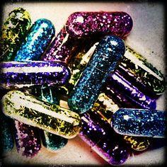 glitter pills | Tumblr