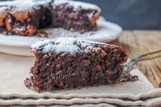 Torta cioccolato e mandorle cremosa e veloce vickyart arte in cucina