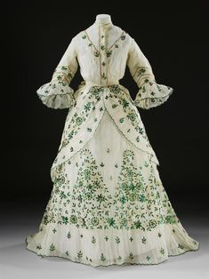 Dress, 1868-9 From the V&A