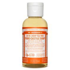 Tea Tree Pure-Castile Liquid Soap - 2 oz.