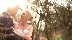 """""""Vandag is die begin van vir altyd."""" There's something about a bushveld wedding. The way the sun dances on a white dress. The way the trees bow… Wedding Venues, White Dress, Dance, Couple Photos, Couples, Handmade, Wedding Reception Venues, Dancing, Couple Shots"""