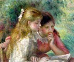 """""""Reading,"""" Pierre Auguste Renoir"""