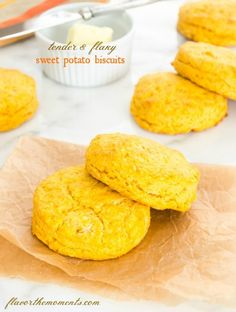 tender-flaky-sweet-potato-biscuits | flavorthemoments.com
